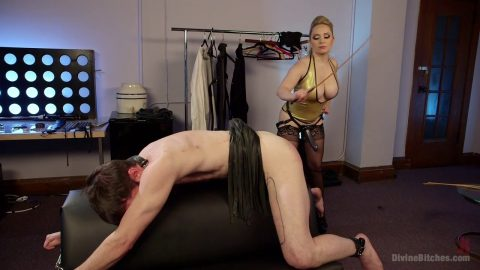 Divine Bitches -  Aiden Starr and Slave Fluffy