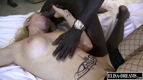 Elisa Dreams -  Hot Threesome With  Black Guys In My Hotel's Room