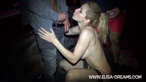 Elisa Dreams -  Striptease And Gangbang In A Swingers Club