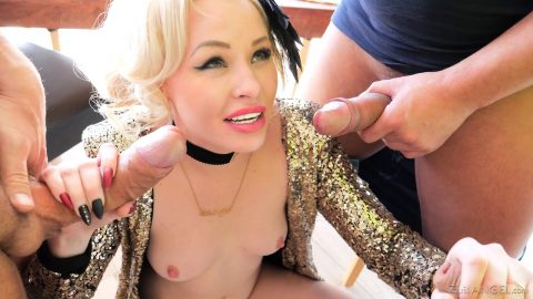 Evil Angel - lola taylor gaping double enetration