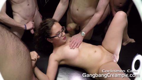 GangBang Creampie – Cocksmen POV G Callie