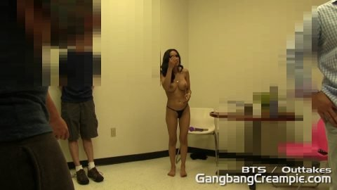 GangBang Creampie -  Behind The Scenes Tia