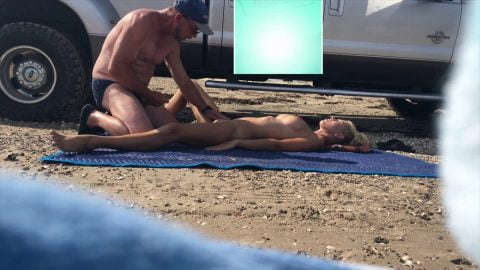 HOLLYHOTWIFE - Picking Up A Stranger On The Beach