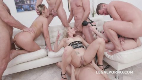 Legal Porno - Outnumbered Both Ways with Watersport Brittany Bardot