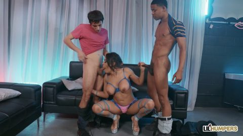 Lil Humpers - Luna Star Dicking In Disguise