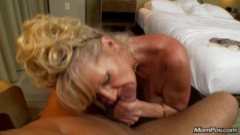 MomPOV - E75 - Veronica - 50 Year Old Blonde With Big Natural Tits