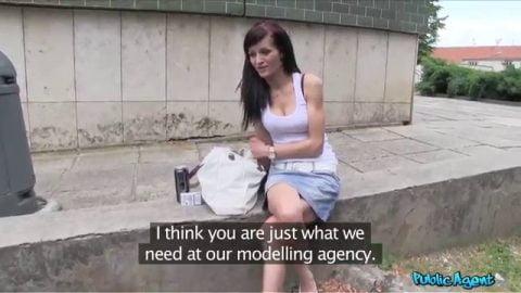 Public Agent - Adele Sunshine (Tattoed Hottie Wants To Be A Model)